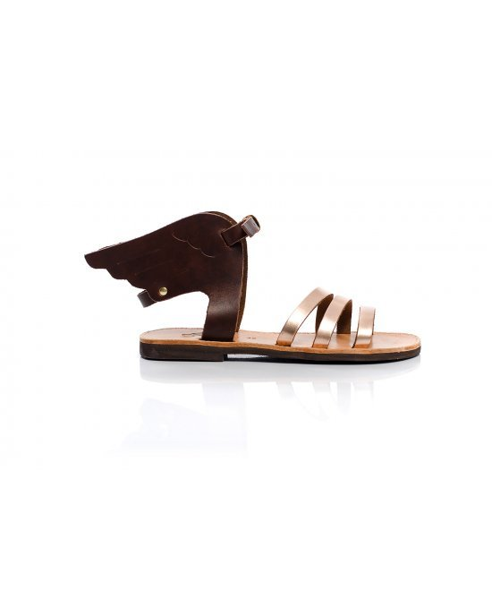 Hermes Wings Brown & Bronze